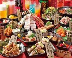 小倉の居酒屋,食べ飲み放題コース