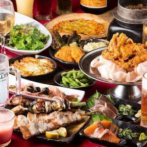 小倉の居酒屋,女子会コース