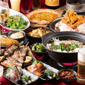 小倉にある食べ飲み放題が破格な居酒屋【炭火焼鳥酒家 ごちや 小倉店】